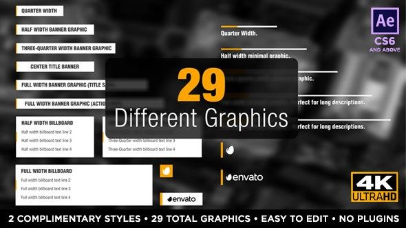 Newsworthy Titles and Lower Thirds 19543168 Videohive – Free ...