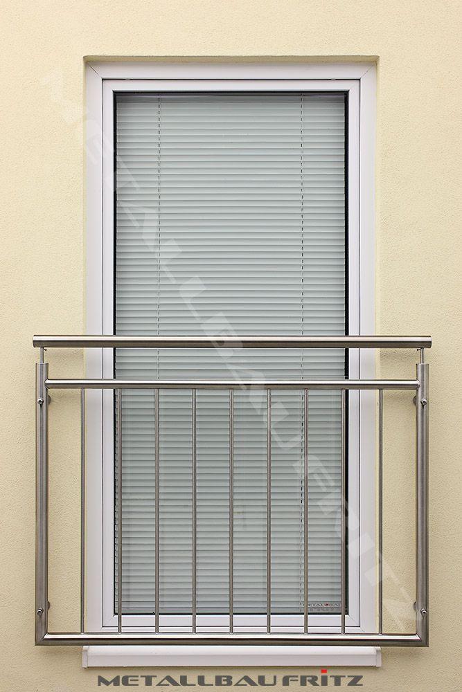 Was Ist Ein Franzã¶sischer Balkon | Franz Sischer Balkon Aus Edelstahl Mit Einem Durchgehenden Handlauf