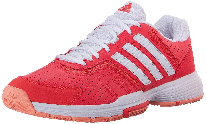 Adidas Barricade Court 2 Women's Shoe RedWhiteOrange (7