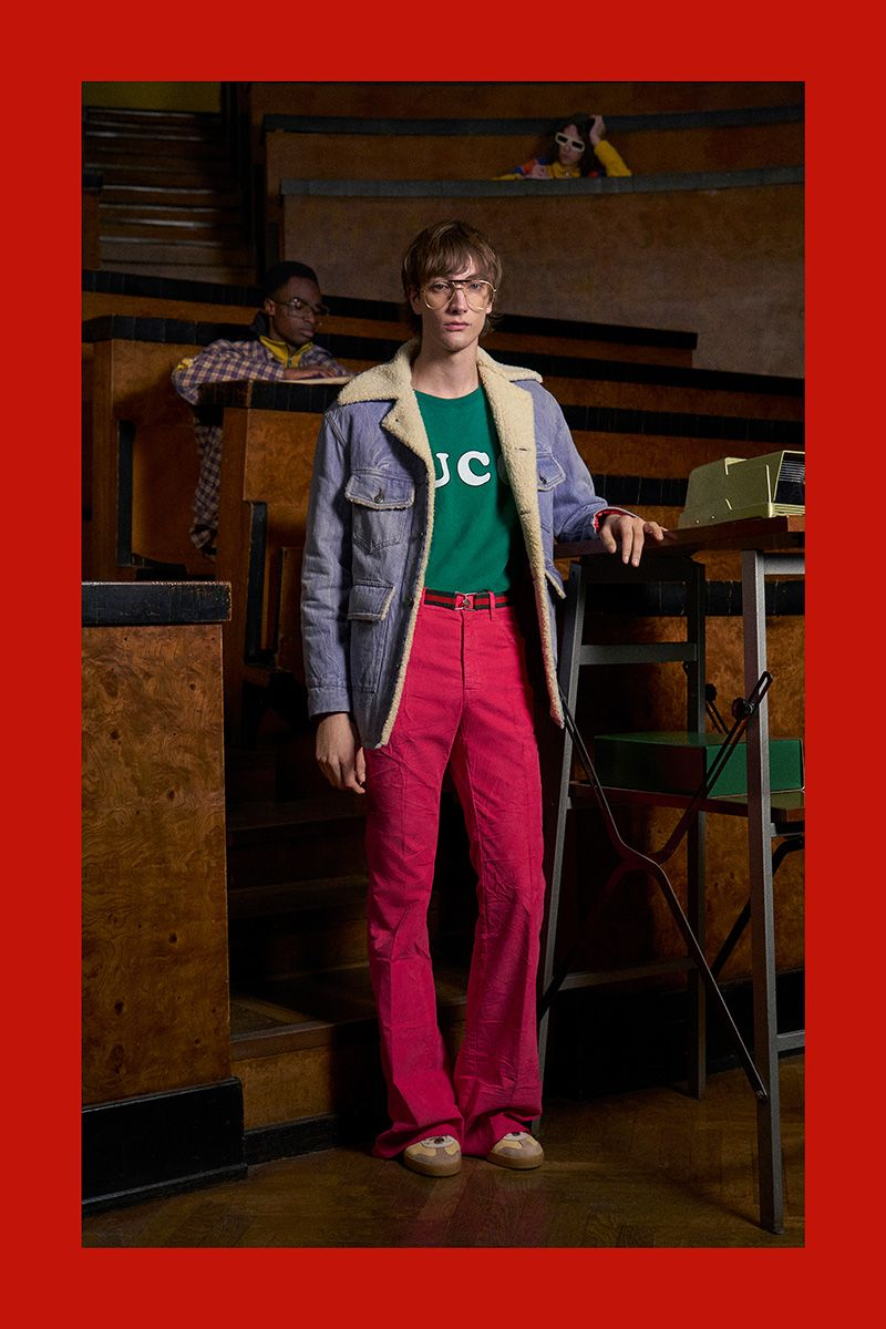 4bae8e24 Gucci unveiled the campaign for its PreFall 2018 collection photographed by Peter  Schlesinger. The locations for the shooting is a tribute that Alessandro ...