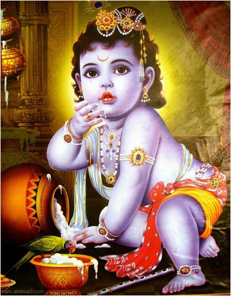 Lord shree bal krishna wallpaper beautiful hd wallpaper - Bal Krishna Yashoda And Cow Hd Wallpapers Rocks