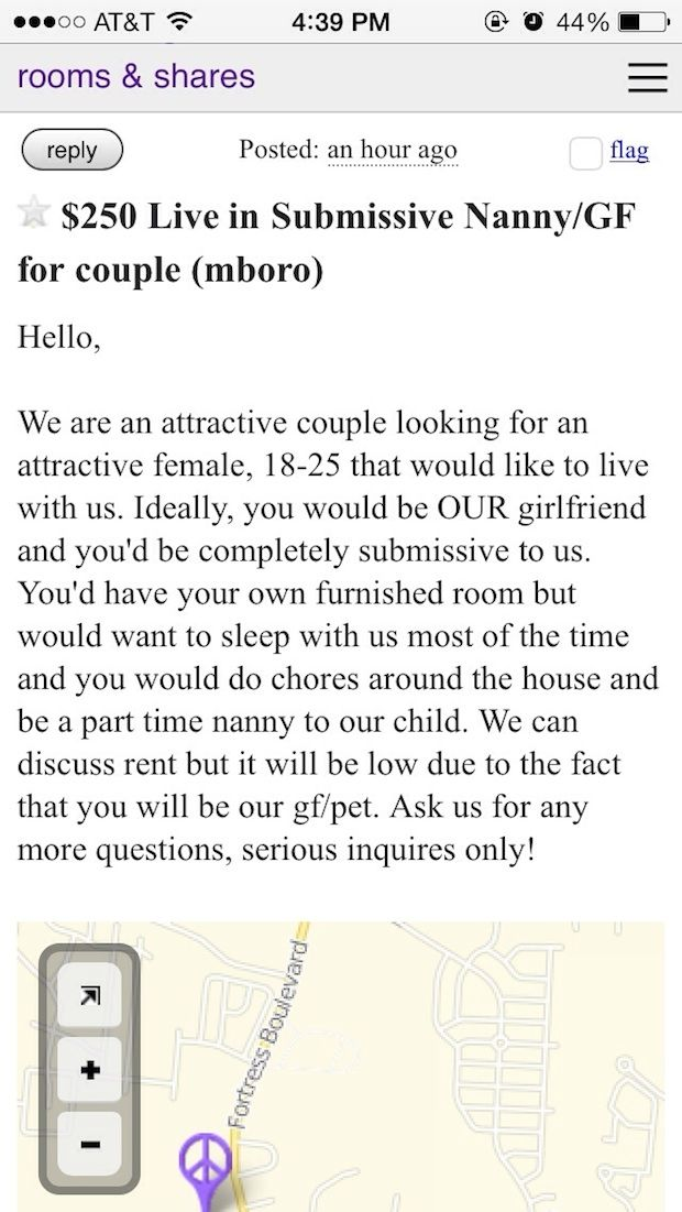 Cool Roommate Wanted Unbelievable Roommate Ads From Craigslist Roommate Wanted Roommate Post
