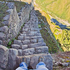 World's Scariest Stairs | Huayna picchu, Picchu, Places to travel