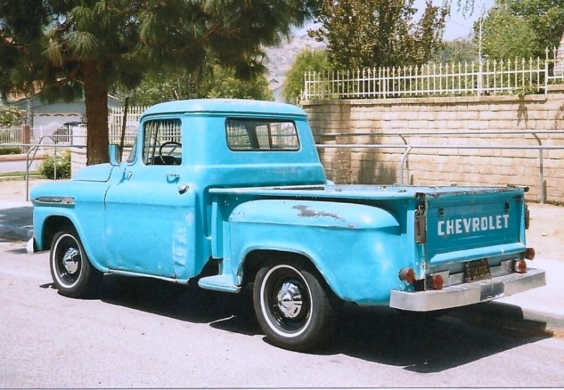 Old Blue Truck With Images Chevy Trucks For Sale Vintage