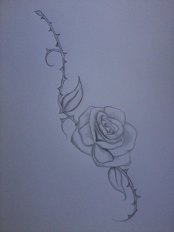 Roses With Thorns Tattoo : roses, thorns, tattoo, Thorn, Tattoo, Sample, VaMpIr3-KiSs3s, DeviantART, Tattoo,, Tattoos