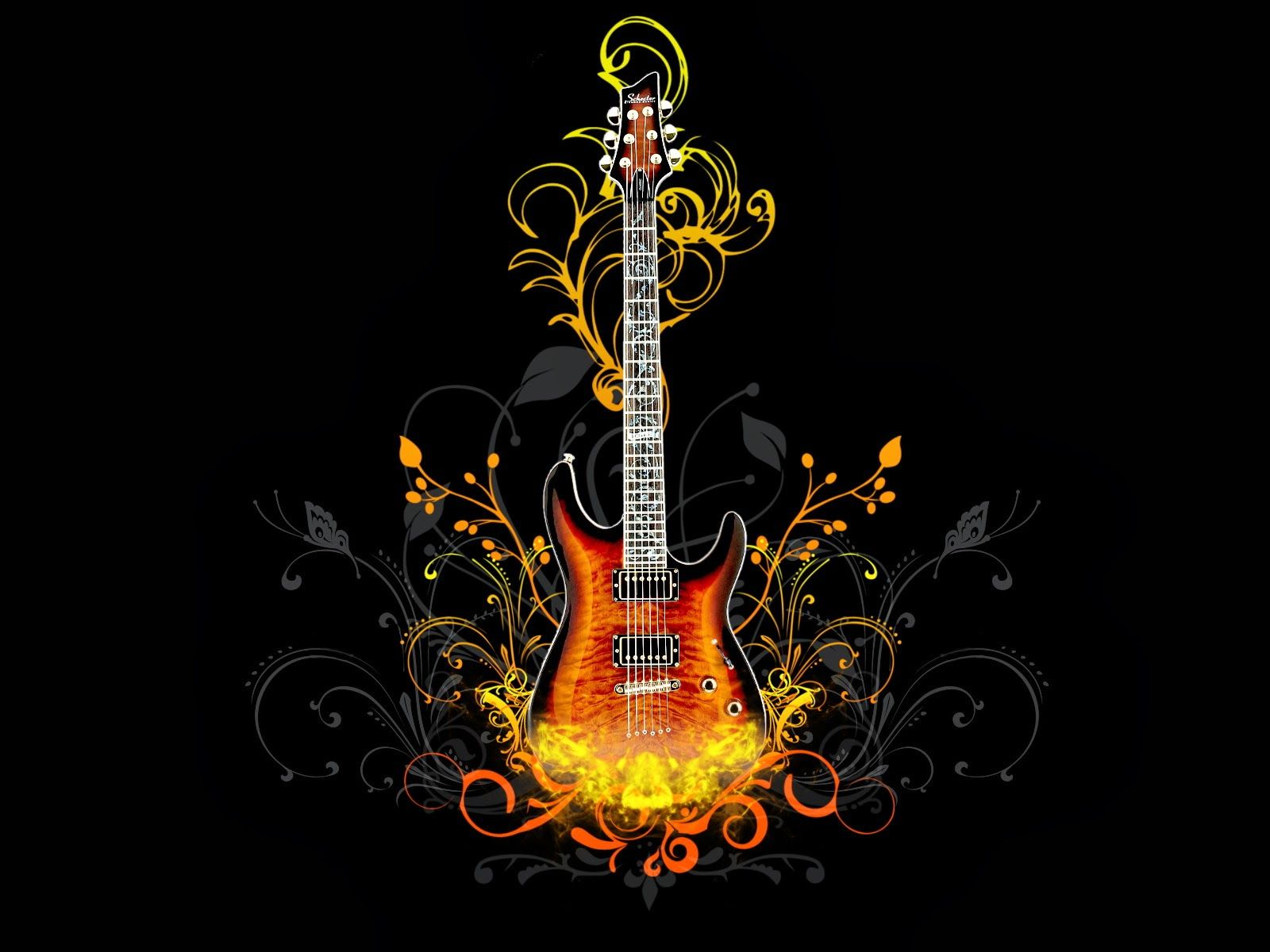 Hd wallpaper guitar - Guitar Wallpapers Most Beautiful Places In The World