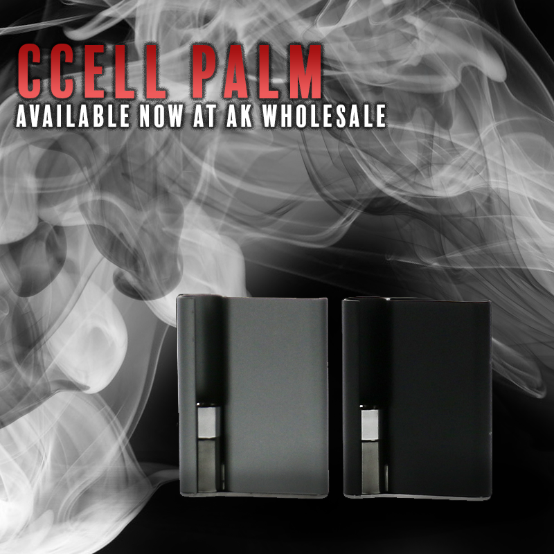 Jupiter's CCell Palm 500mAh Vape Battery is incredibly