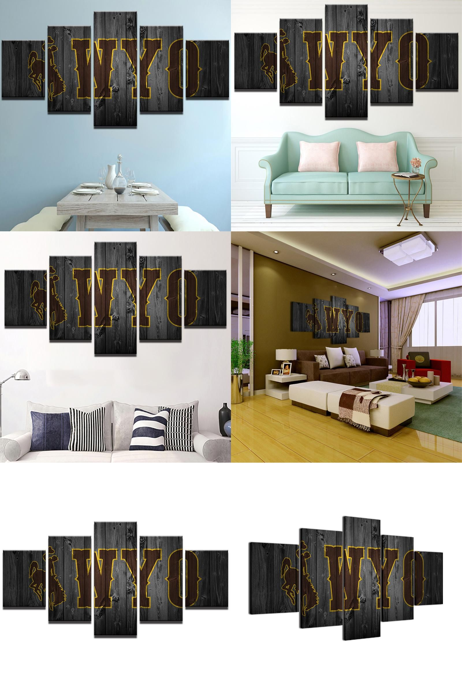 Visit to buy pengda modern home wall art decor frame painting