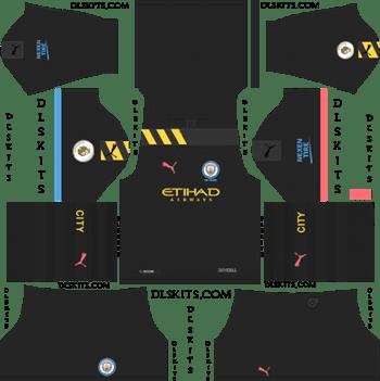super popular 46d62 11b0b Dream League Soccer Kits Manchester City Away Kit 2019-20 ...