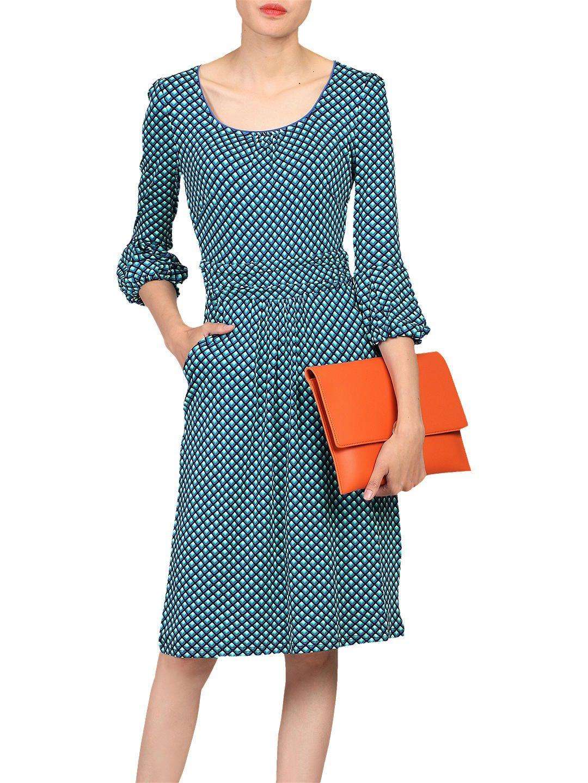 ab69801e038 BuyJolie Moi Printed Three Quarter Sleeve Dress