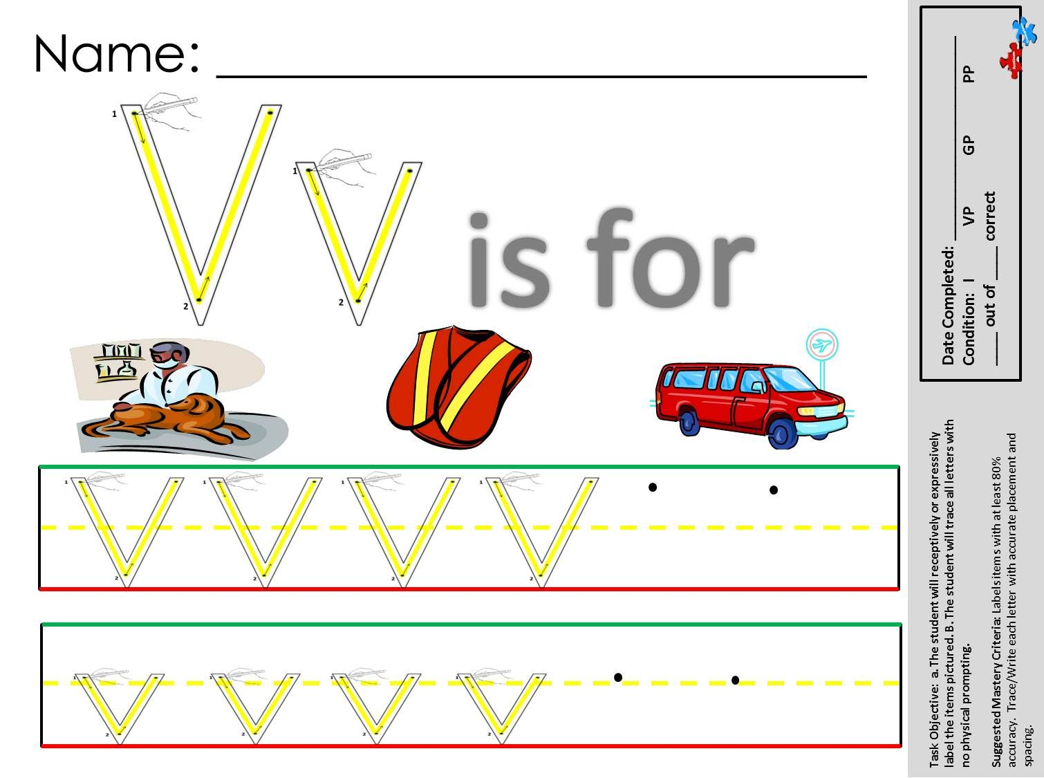 Teach Handwriting Language And Labeling All With This