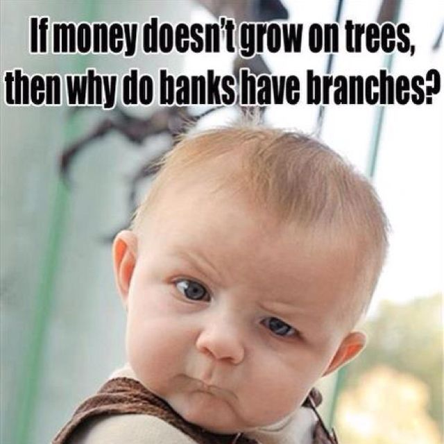 does your money grow in your bank account