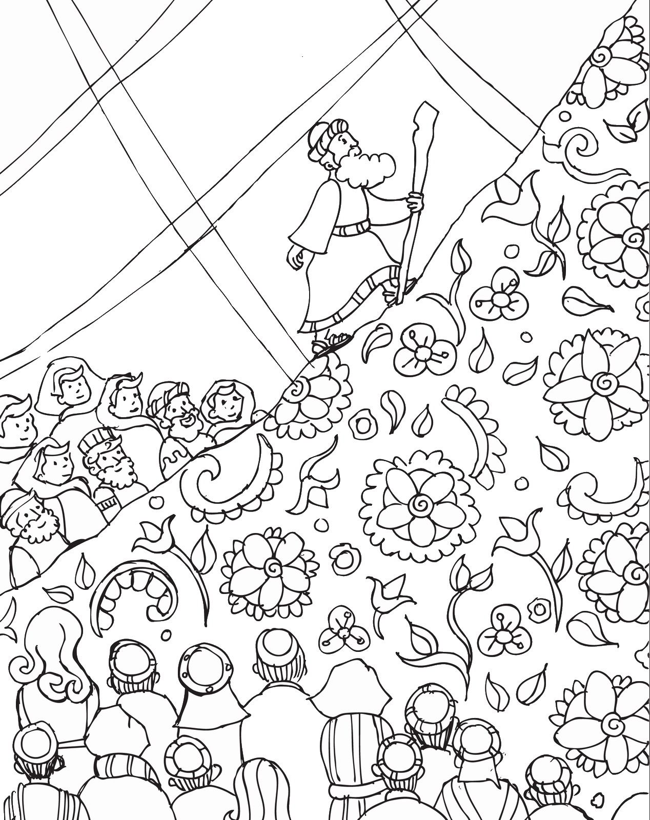 Shavuot Coloring Page Holidays Pinterest