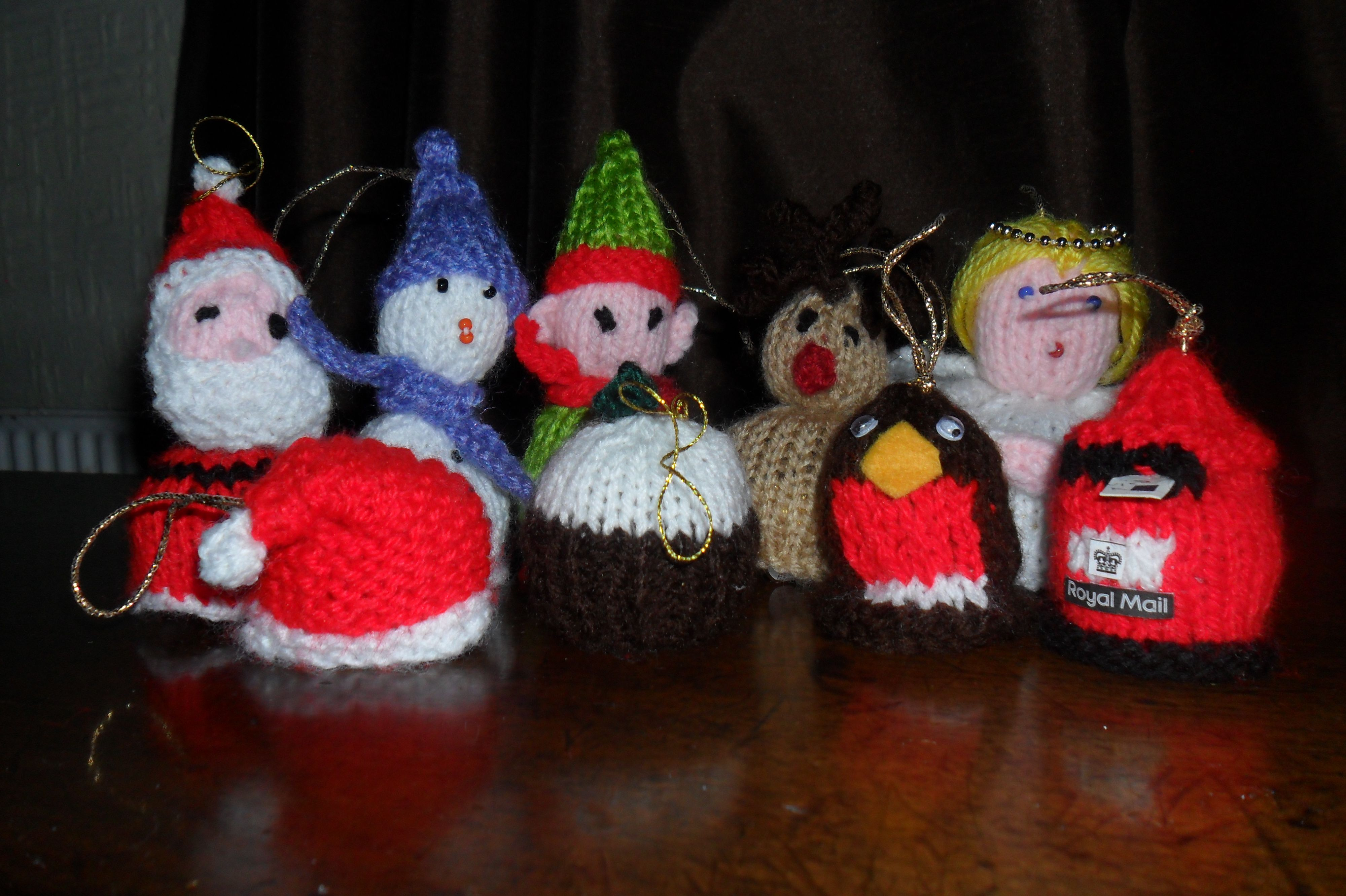 a331d80976086 assortment of knitted Ferrero Rocher Chocolate Cosies ...