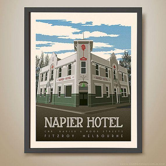 NAPIER HOTEL, Fitzroy, Melbourne  Melbourne Pub  Famous Pub
