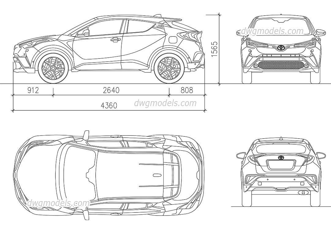 automobile wire diagram cad