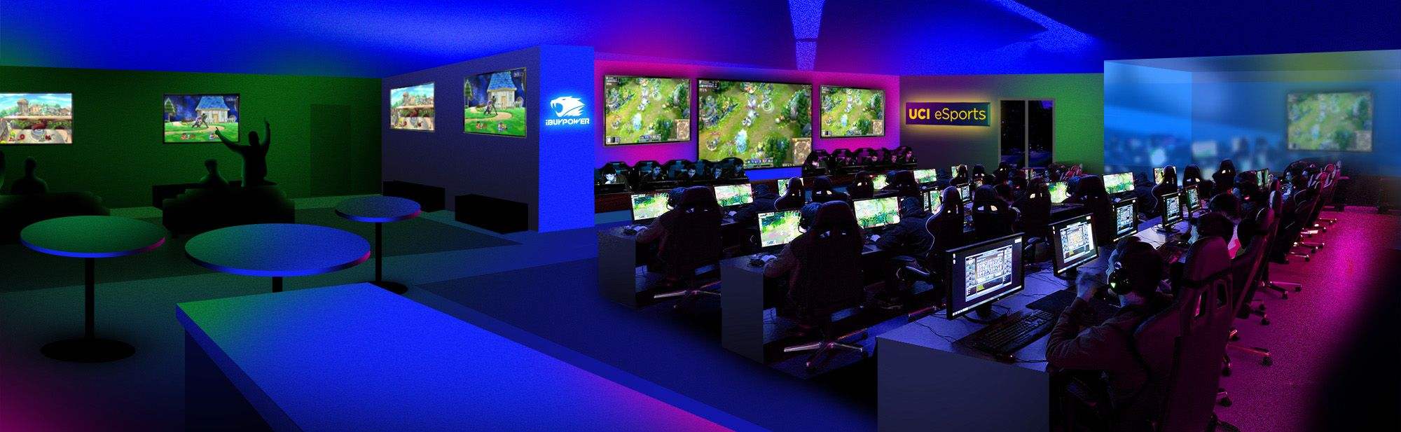 This one shows the lighting we want. Video game rooms
