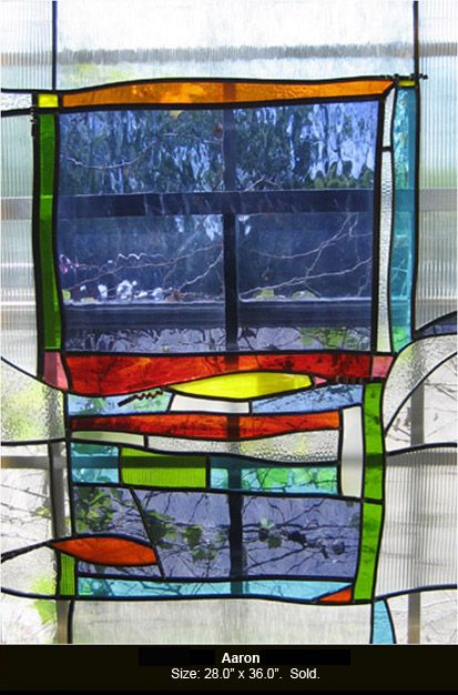 Aaron Is A Stained Glass Artwork Click To Return To Thumbnail Images