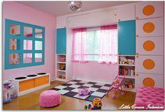 Cuarto de Juegos (Playroom) para Niñas | decoracion | Sala ...