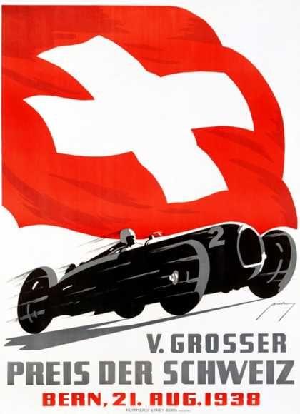 V Grosser Preis Der Schweiz Fur Automobile 1938 Avtogonki Gonki