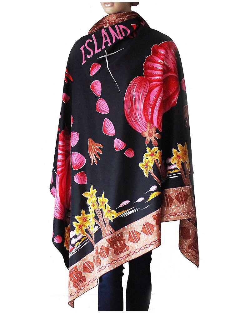 Ogromna Chusta Plaza Palm Muszle Island In The Sun 7266654337 Oficjalne Archiwum Allegro Women Fashion Sleeve Top