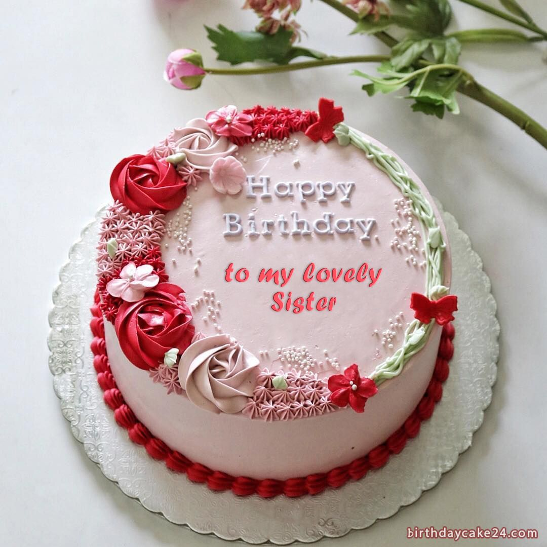 Birthday Cake Sister For Quotes