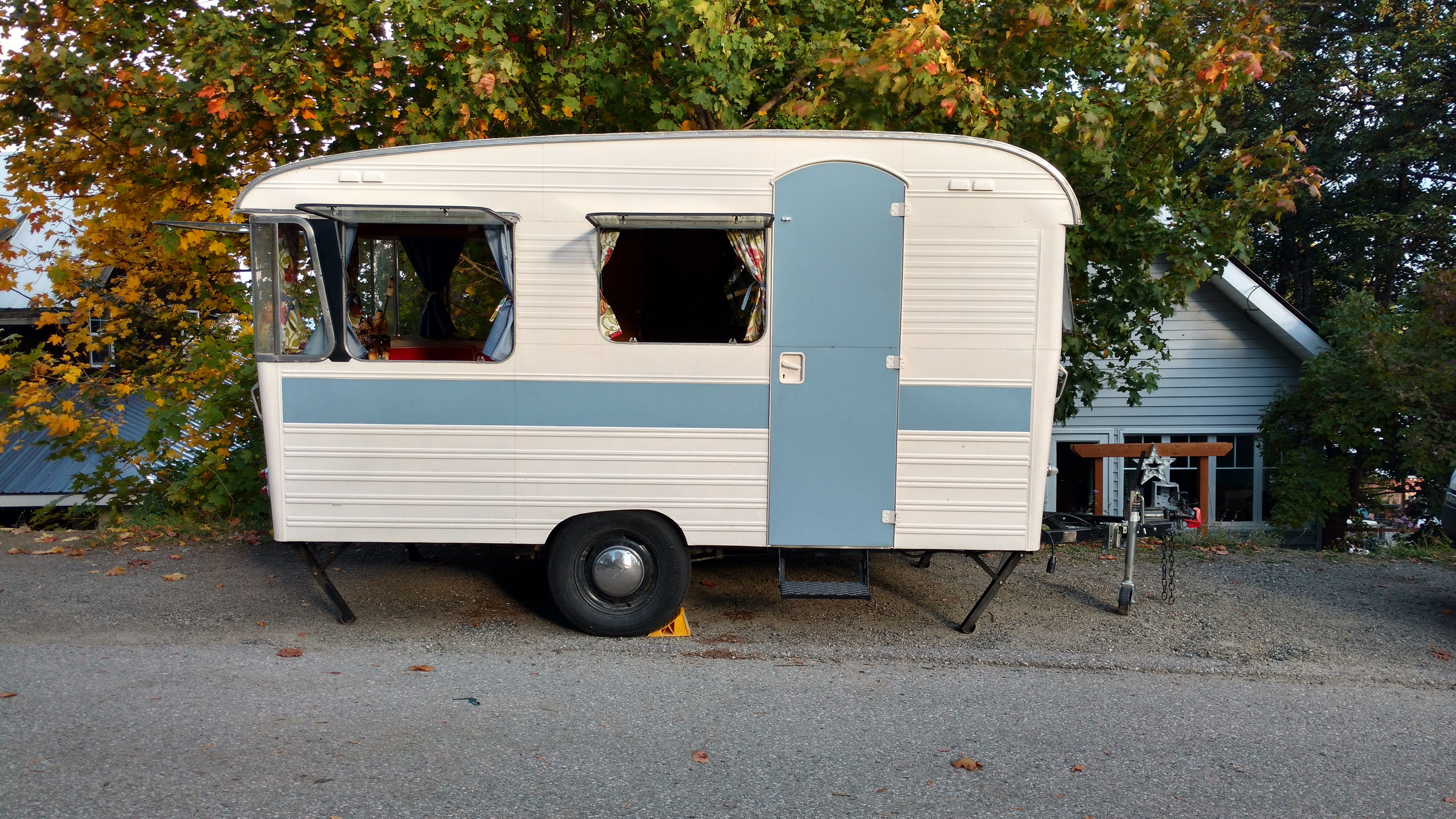 1966 Digue Welcome Amorette | campy | Rv trailers, Recreational