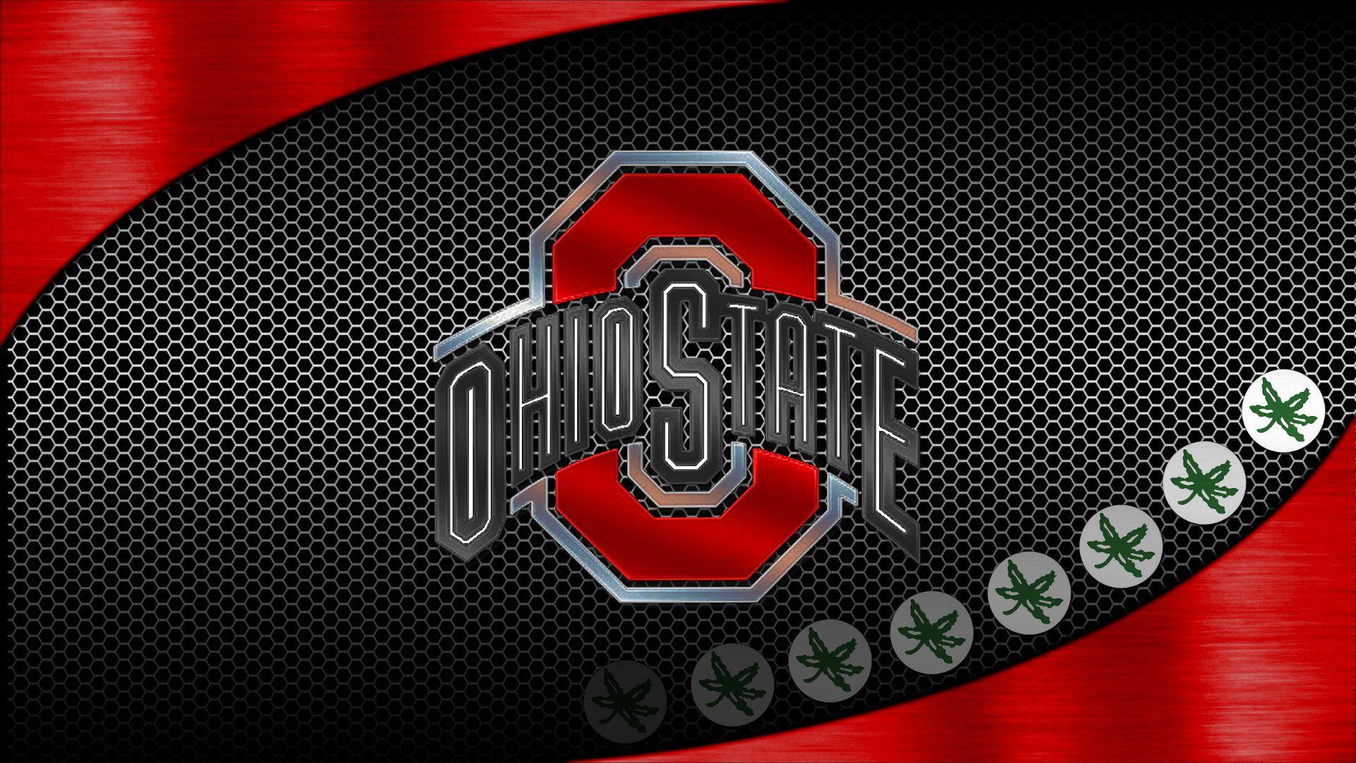 Ohio State Logo Wallpaper: Ohio State Buckeyes