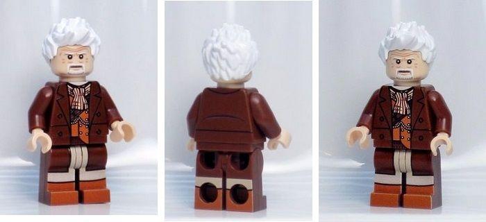 A1235 Lego custom printed Doctor Who WAR DOCTOR MINIFIG Lego ...