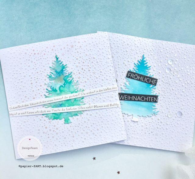 Weihnachtskarten Mit Gutem Zweck.Papierzart Bambi Für Senioren Weihnachtskarten Für Einen Guten