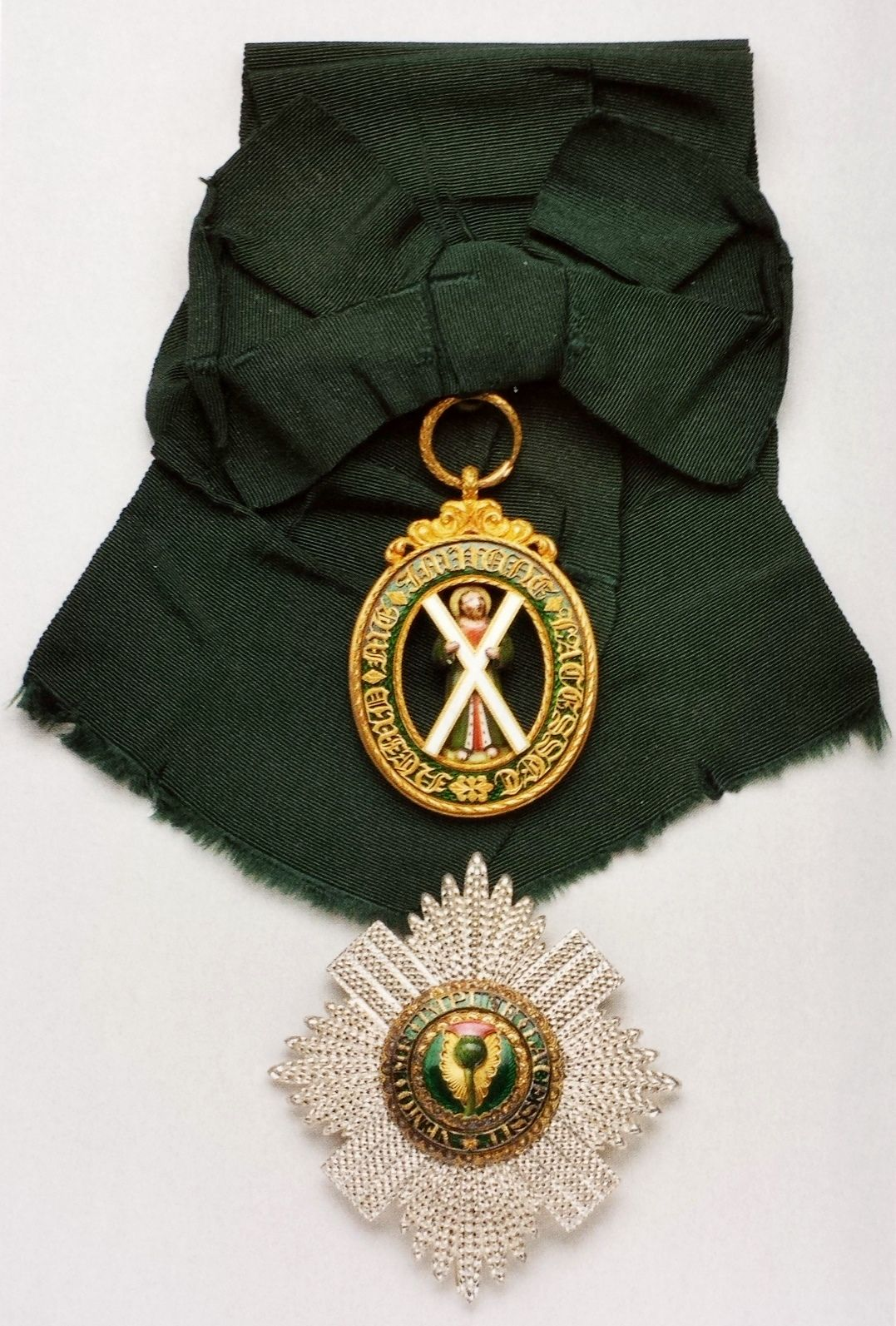 Order Of The Thistle Insignia; Sash Badge, Begin 19th