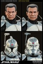 Sideshow Star Wars Clone Commander Wolffe 1:6 Scale Figure