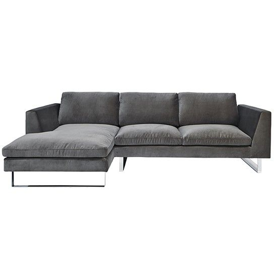 New York Chaise Sofa From Graham Green Corner Sofas Living Room Photo Gallery Ideal Home Housetohome Co Uk