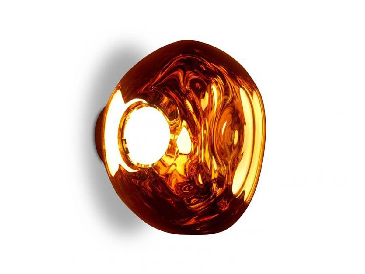 Buy The Tom Dixon Melt Mini Led Surface Light At Nest Co Uk Tom Dixon Melt Light Copper Glass Blowing