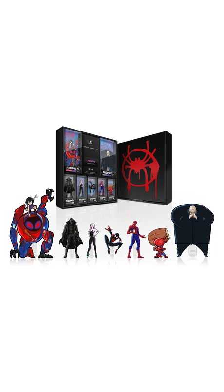 FiGPiN XL Spider-Man Into The Spider-verse PENI PARKER #X30 Enamel Pin
