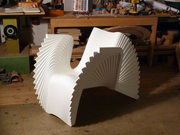 Monroe chair in motion by Alexander White