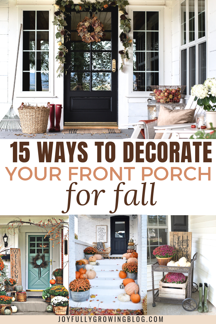 15 Fall Front Porch Decorating Ideas Make Your Porch Look Amazing Fall Patio Decor Fall Front Porch Decor Fall Patio