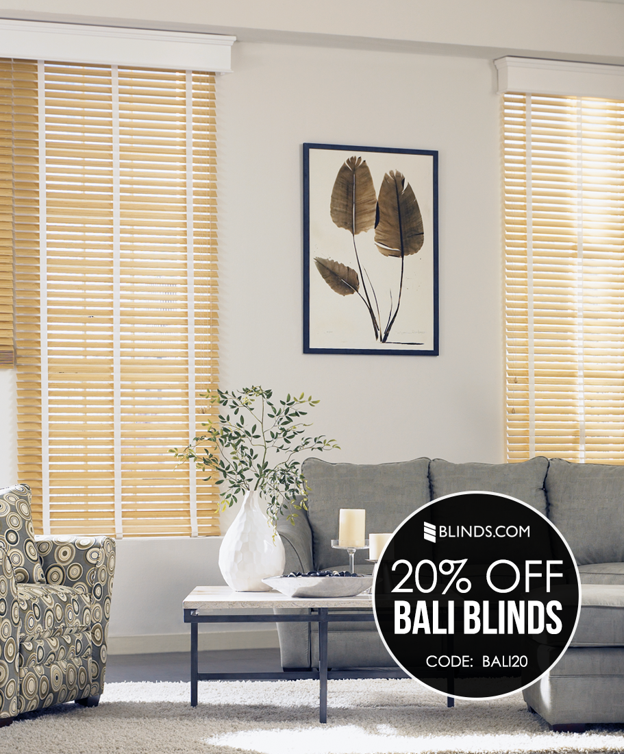Give Your Living Room A Minimalist Scandinavian Vibe With Birch Wood Blinds And White Accent Tapes
