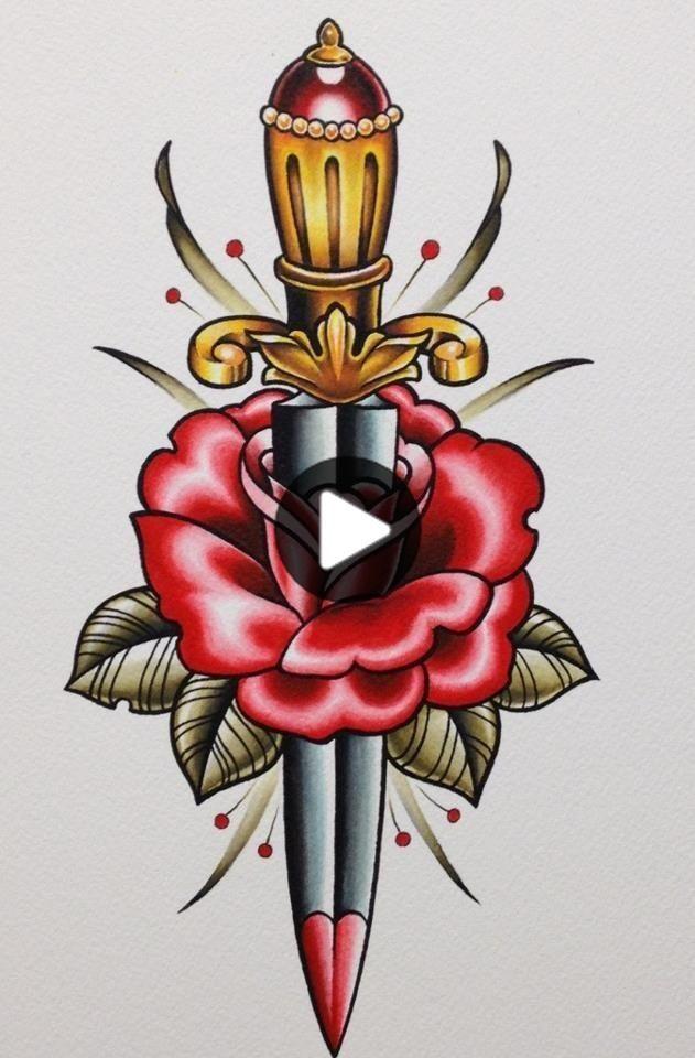 Old School Tattoo Flash | KYSA #ink #flash #tattoo #tattooideas #besttattoomodels