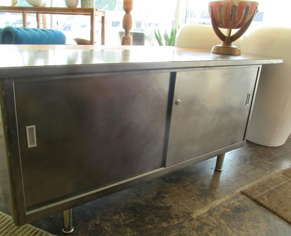 1940 S 50 S Metal Credenza Metal Furniture In 2019
