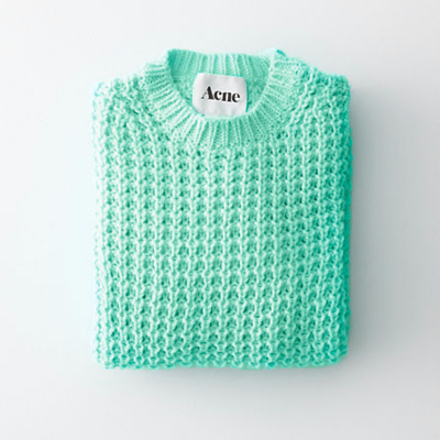 acne, beautiful, green, love, sweater, style