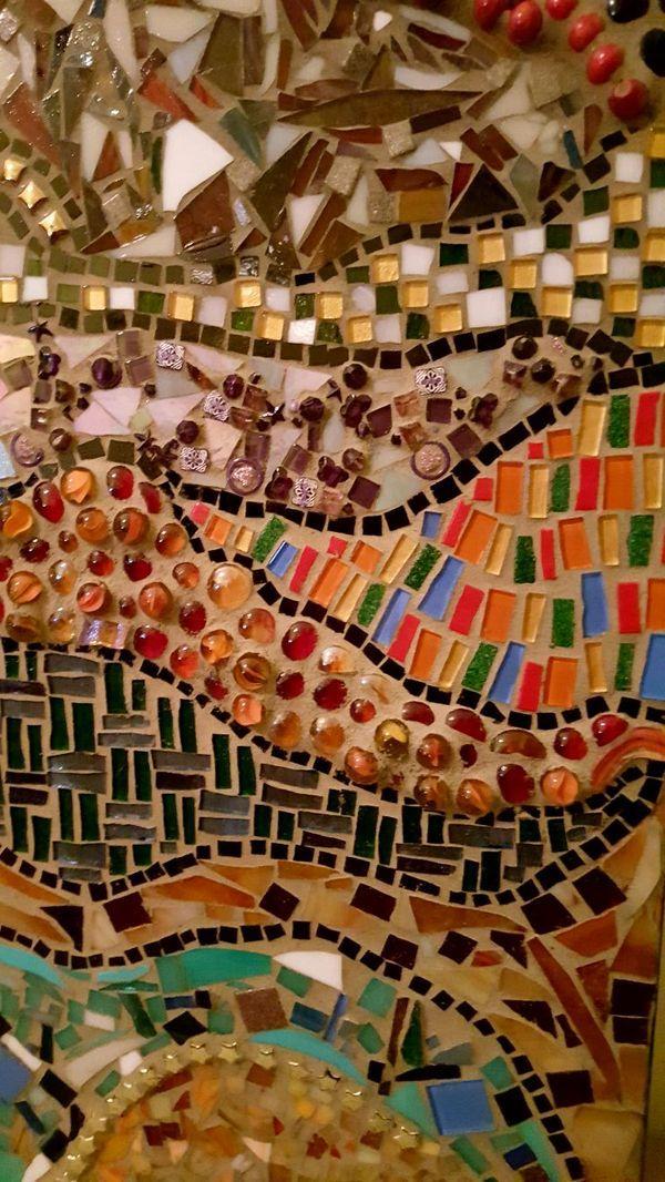 Large Stained Glass Mosaic Wall Art   Mosaics I Love   Pinterest ...