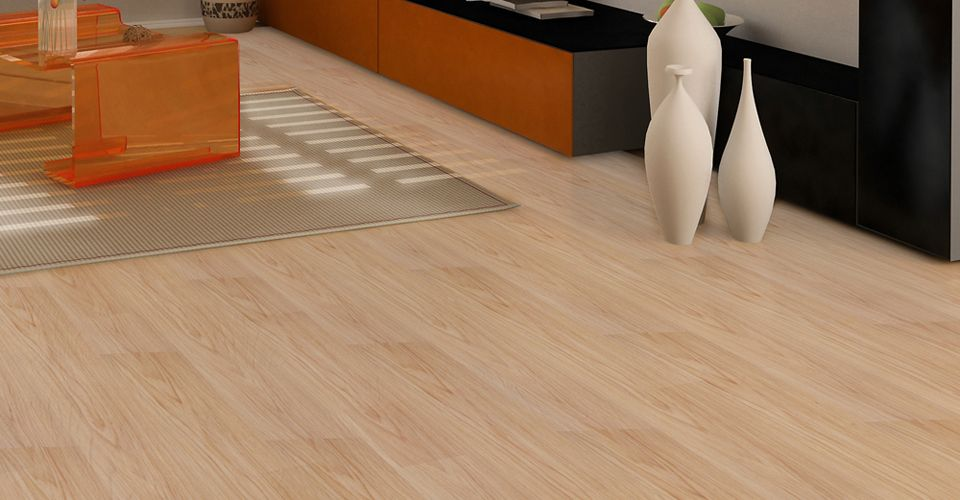 Blonde Maple With Easy Gripstrip Installation Vinyl Plank Resilient Flooring Has Never Been This