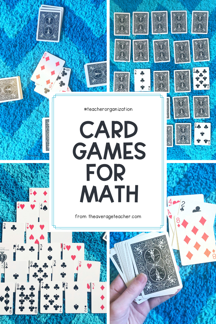 how to play this easy math game using playing cards  easy
