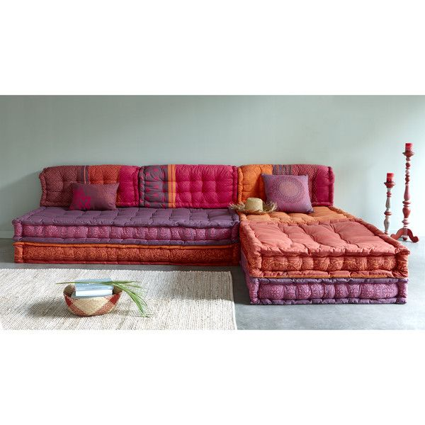 6 Seater Cotton Modular Madurai One Day In The Home Cinema Nook Cushions On Sofa Floor Couch Indian Home Decor