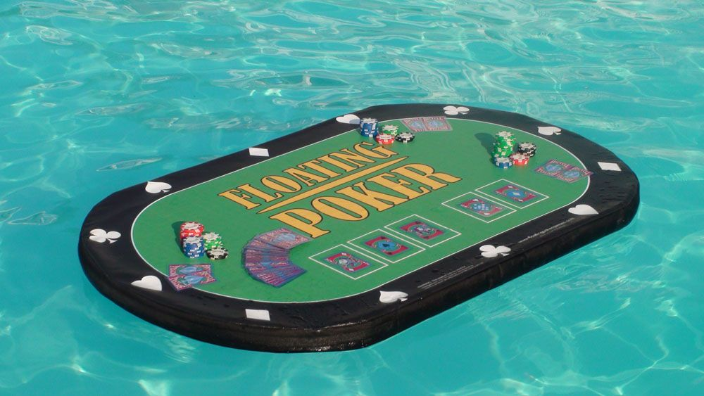 Image Detail For  Pool Toys, Poker Table, Pool Games, Swimming Pool Poker,  Swimming Pool .