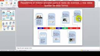 Línea de tiempo con PowerPoint - YouTube