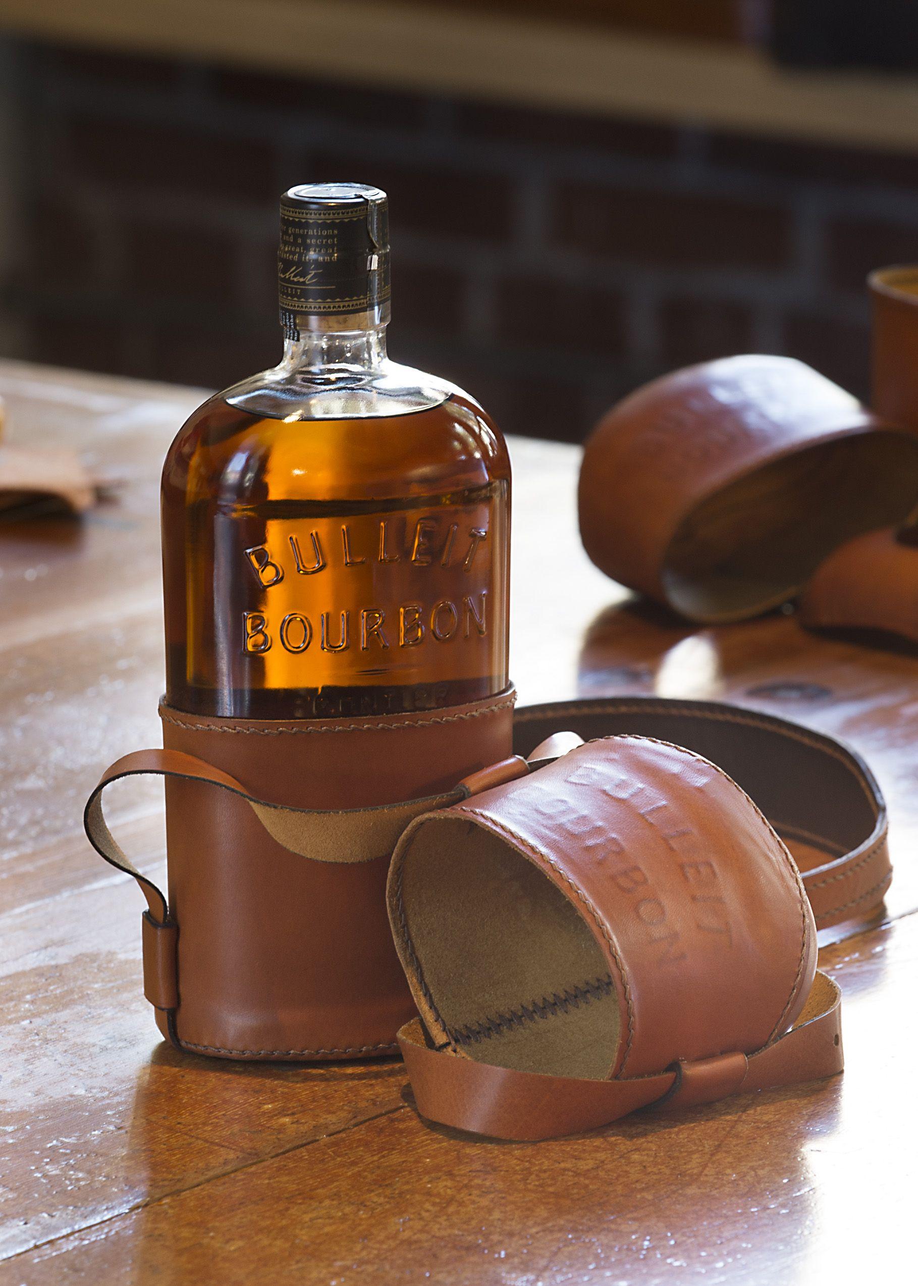 Sandstrom Partners: Bulleit Bourbon Leather Bag