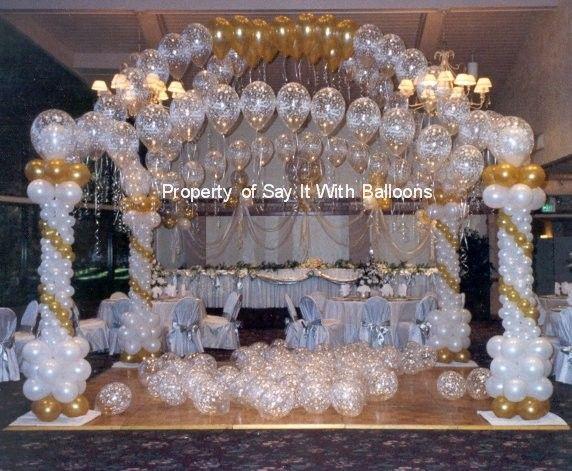 Ballon Hochzeitsdekoration Ideen - AllAboutWeddingPlanning.com