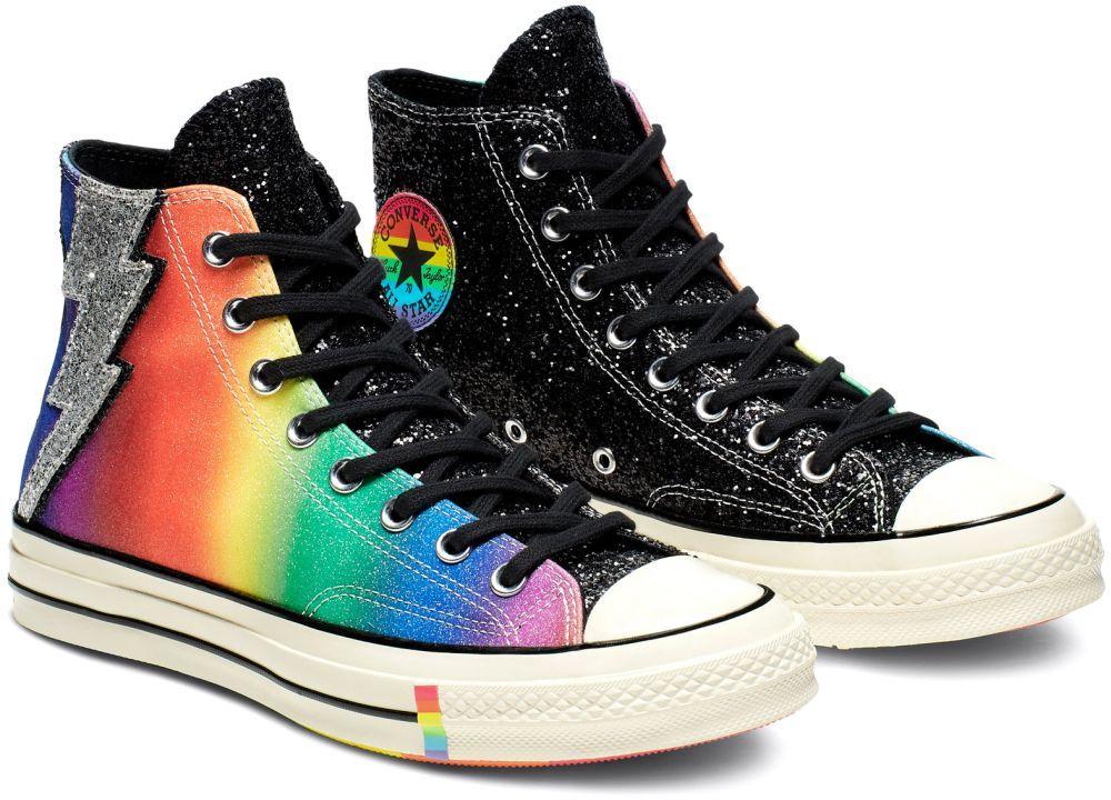 Converse Chuck Taylor 70s Hi Top Pride RainbowBlack